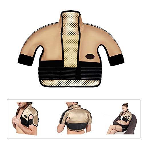 Elektrisches Heizkissen für Schulter und Nacken - knetende Heizung, schmerzlinderndes Heizkissen, medizinischer Bedarfsmasseweste (für Schulterbreite: 40-65CM) (Heizkissen Schulter Elektrische)