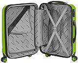 Packenger Velvet Koffer, Trolley, Hartschale  3er-Set in Hellgrün, Größe M, L und XL - 9