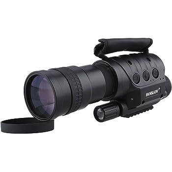 Uphig Boblov NV-760D Monoculaire Vision Nocturne Télescope Numérique Infrarouge 7x60 850n Photo et Vidéo 50fps avec CCD