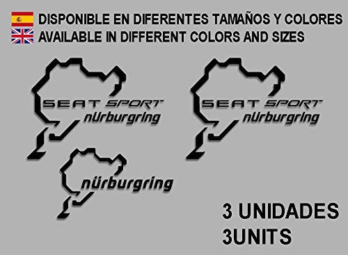 pegatinas-stickers-seat-sport-nurburgring-f26-aufkleber-decals-autocollants-adesivi-rallye-negro