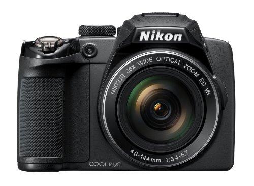 Nikon Coolpix P500 Digitalkamera (12 Megapixel, 36-fach opt. Zoom, 7,5 cm (3 Zoll) Display, Full-HD Video, bildstabilisiert) schwarz - 3