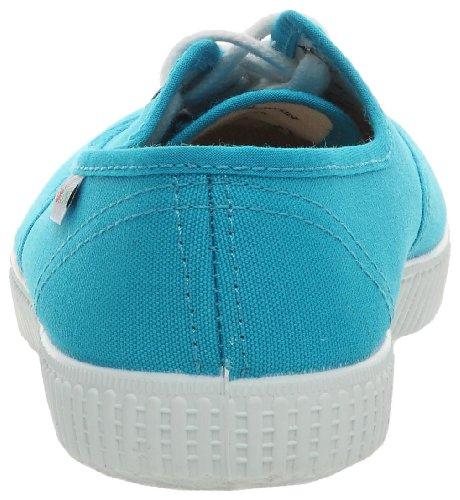 Inconnu Inglesa Lona, Baskets Basses Mixte Adulte Bleu (Turquesa)
