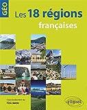 Les 18 régions françaises...