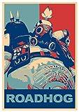 """Poster Overwatch - Chopper A3 (42x30 cm) """"Propaganda"""""""