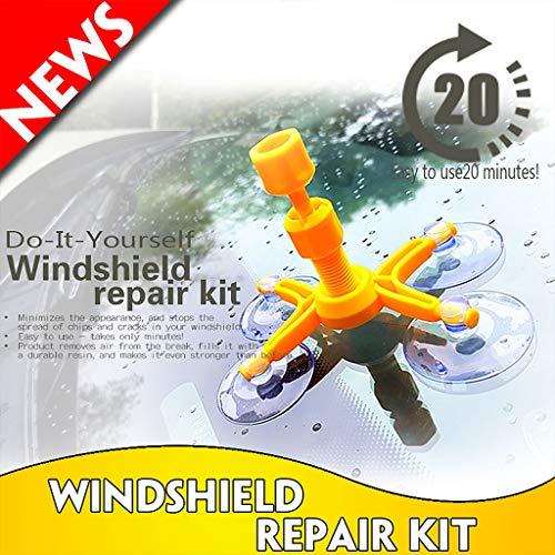 Freshsell Auto-Scheiben-Reparatur-Werkzeug für die Windschutzscheibe, zum Entfernen von Dellen
