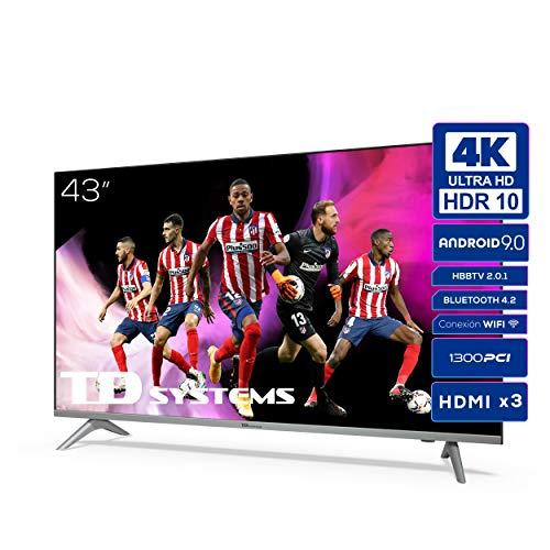 Imagen de Televisores Smart Tv Td Systems por menos de 300 euros.