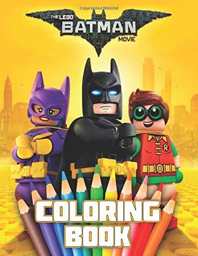 LEGO BATMAN MOVIE Coloring Book: 37 Exclusive Illustrations