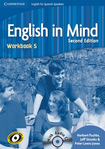 English in Mind for Spanish Speakers  5 Workbook with Audio CD - 9788483237595