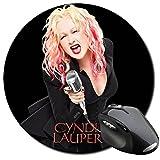 Best Di Cyndi Laupers - Cyndi Lauper Tappetino Per Mouse Tondo Round Mousepad Review