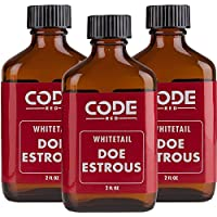 Código azul código rojo Whitetail Doe estrous Triple Pack