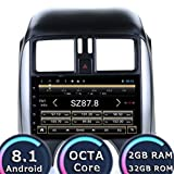 ROADYAKO Auto-PC Tabelle für Nissan Sunny 2011 2012 2013 Android 8.1 Stereo Navigation GPS 32 GB R0M 2 GB RAM WiFi 3G RDS Spiegel Link FM AM Bluetooth Audio Video