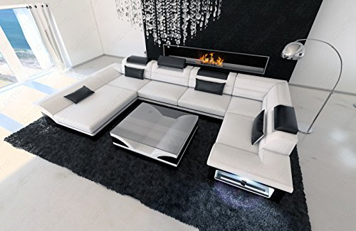 Luxus Wohnlandschaft Enzo LED - 4