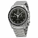 Omega Omega Speedmaster Professional Luna Cronografo Nero Quadrante Acciaio inox Acciaio Mens Orologio 31130423001006