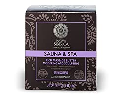 Natura Siberica Sauna & SPA Rich Massage Butter Anti Cellulite Active Organics 370ml