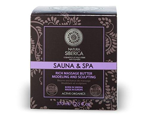 Natura Siberica Sauna & SPA Rich Massage Butter Anti Cellulite Active Organics 370ml by Natura Siberica -