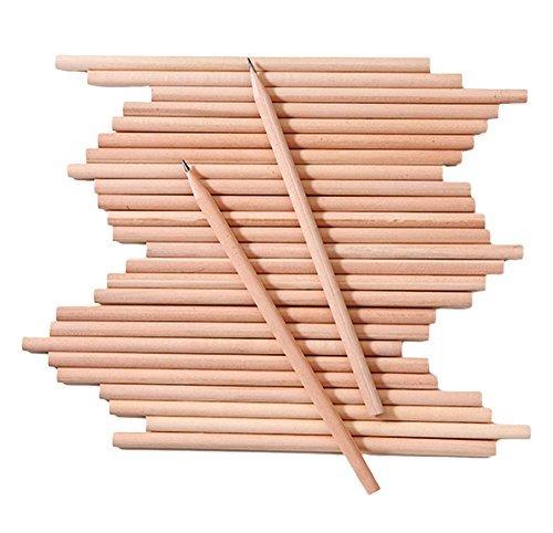 Lápices de madera triangulares para oficina