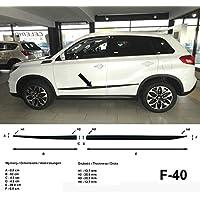 Spangenberg 370004005 - Listones de protección Lateral para Suzuki Vitara SUV LY (Modelos a Partir