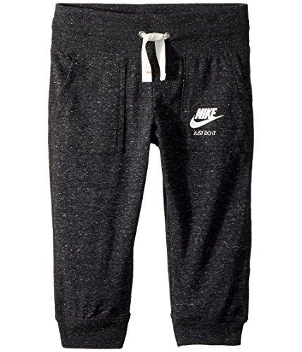 Nike Mädchen Hose G NSW VNTG CPRI L schwarz/Segel