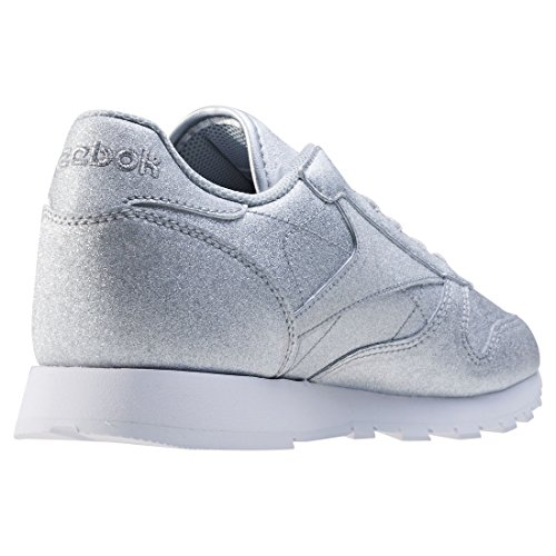 Reebok CL Leather SYN W Scarpa Argento