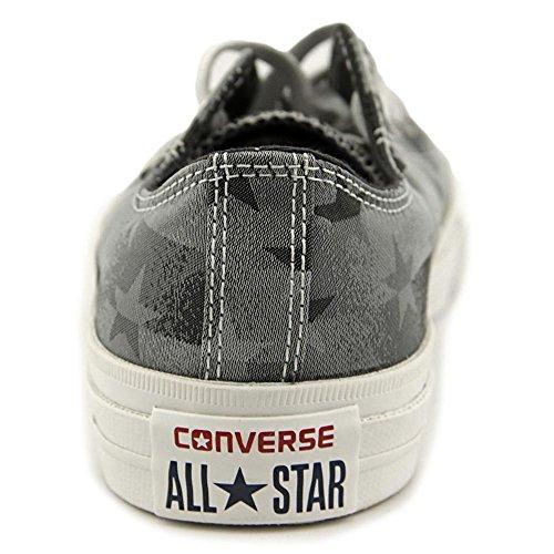 Converse Chuck Taylor Bar & Stars Jaquard, Baskets mode mixte adulte Black/White