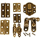 Mini-Beschläge, Größe 30 mm, antikgold, 45 sort.