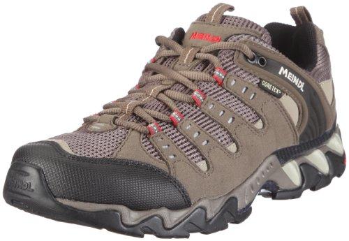 Lite Trail GTX, Chaussures de Randonnée Hautes Homme, Gris (Anthrazit/Rot 31), 45 EUMeindl