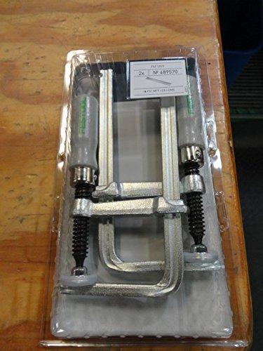 Festool 489570 Schraubzwinge Ganzstahl FSZ 120mm (2Stück)