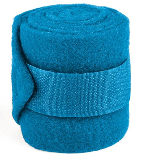 Waldhausen Fleecebandage Mini Shetty Set=2 Paar, Azur, azurblau