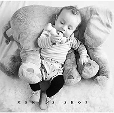 J&L Elephant Environmental pillow Cute Animal Elephant Cushion Novelty plush soft toy for decoration, gifts for kids plush toys baby appease 100% cotton