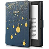 Kindle Paperwhite Case. Premium SmartShell Lightest Thinnest Protective PU Leather Case With (Auto Wake/Sleep) Folio Flip Case Flip Cover For Amazon Kindle Paperwhite 2012 , 2013 , 2014 And 2015 New 300 PPI Flip Cover Flip Case (City Lights)