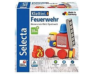 Selecta 62077 Klettini - Juego de Accesorios para Hacer Bomberos (7 Piezas)