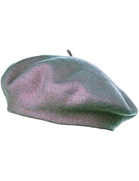 HowYouth® Classico Cappello da Artista Francese, Berretto in Tinta Unita 100% Lana da Ragazza Bambina Ragazzo...