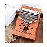 NOLOGO Gxbld-y Thumb Klavier, Akazien Finger Klavierinstrument, 17-Ton Vibrato for Anfänger, Goddess Hand tragbares Daumenklavier, Mehrfarben- optional (Farbe : C)