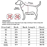 Hundemantel Regenmantel Hund Hundebekleidung Hundejacke Wintermantel Regenjacke-Orange (L) - 5