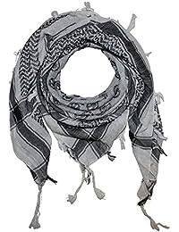 Superfreak® Palituch mit Smiley-Muster°PLO Schal°100x100 cm°Pali Palästinenser Arafat Tuch°100% Baumwolle – alle Farben!!!