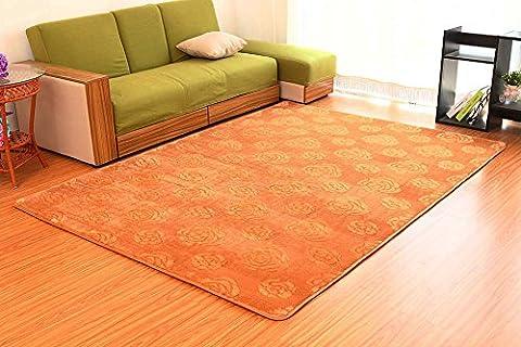 Sannix Motif 3d Fleur Rose Zone Shaggy Tapis et Moquette Super Doux Chambre à coucher carré Tapis pour enfants Play, kaki, 1x1.6M