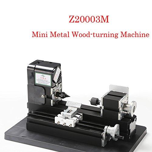 Mini Metalldrehmaschine 24 Watt Motor Mini Metall Holz-Drehmaschine für Hobby Modellbau