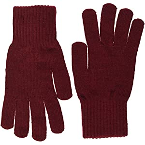 Tommy Hilfiger Basic Knit Denim Gloves Guantes para Mujer