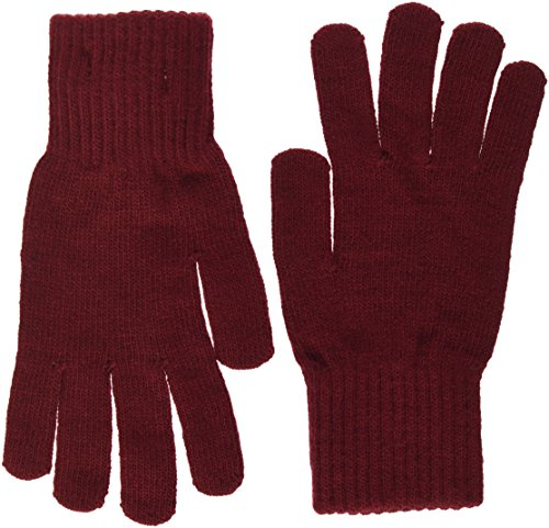 Tommy Hilfiger Basic Knit Denim Gloves, Guantes para Mujer