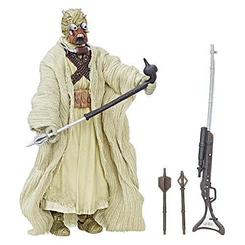 Star Wars Figurine of the dwellers of the Arena, Black Series, 40 Anniversary. Size of 15,2 cm
