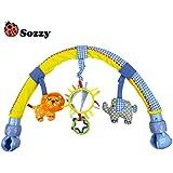 Espeedy Sozzy cochecito de bebé/cama/cuna Juguetes colgantes sonajeros asiento de felpa cochecito de elefante móvil sonajeros de León regalos