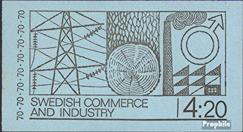 Prophila Collection Schweden MH26II (kompl.Ausg.) 1970 Wirtschaft und Industrie (Briefmarken für Sammler)