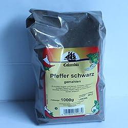 Columbia Pfeffer schwarz gemahlen 1kg