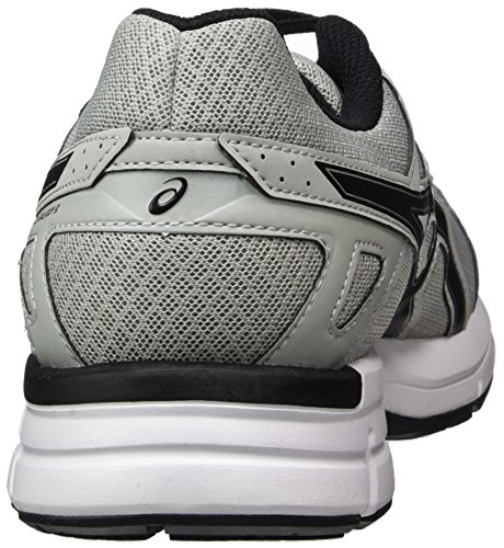 Asics Gel-Galaxy 9, Chaussures de Running Homme Gris (Mid Grey/black/silver)