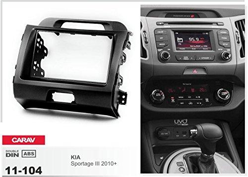 ISO and Antenna Adapter Cable CARAV 11-104-33-1 Mascherina autoradio 1 DIN Car 2 DIN In dash Installation Kit Set