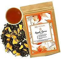 TeaTreasure Apple Spice Fruit Tea - Loose Leaf Tea - 50 Gm