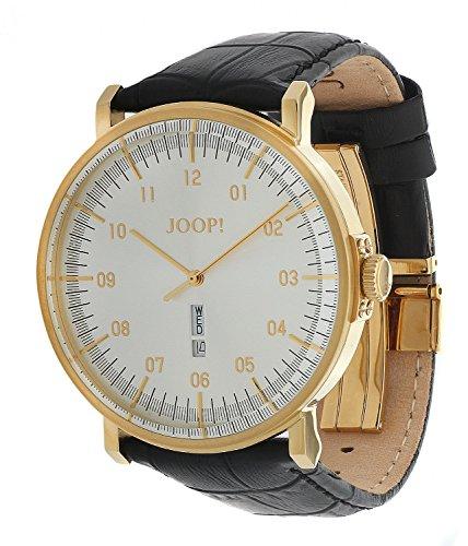 Joop! Herren-Armbanduhr Analog Quarz Leder JP100821F04U