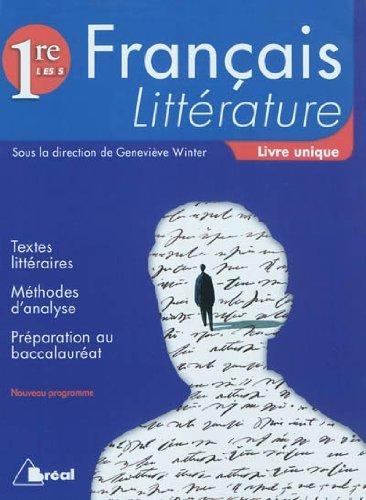 Franais : Littrature, 1re