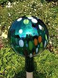 Gartenkugel (R29) Rosenkugel Gartenkugeln Rosenkugel Glas 25 cm groß (auch mit Rosenkugelstab -Gartenstecker erhältlich)