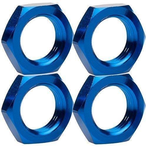 1:8 Radmuttern blau 17 mm 6-Kant 4er Set partCore 310017
